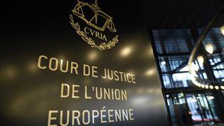 La Cour de justice de l'Union européenne est basée au Luxembourg. (JOHN THYS / AFP)