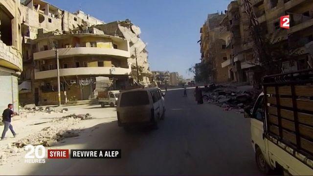 Syrie : le difficile retour des habitants d'Alep