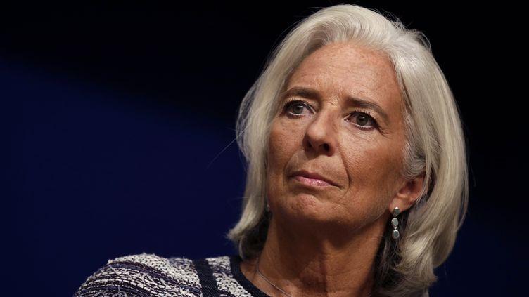 La directrice du Fonds monétaire international, Christine Lagarde, à Paris, le 10 septembre 2013. ( JACKY NAEGELEN / REUTERS)