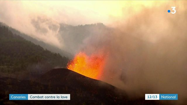 Canaries : le volcan de La Palma continue de faire des dégâts