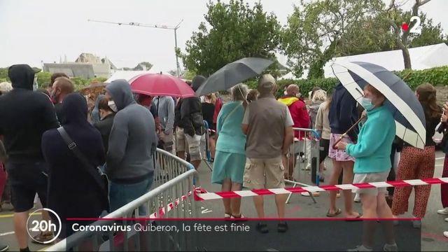Coronavirus : la fête est finie à Quiberon