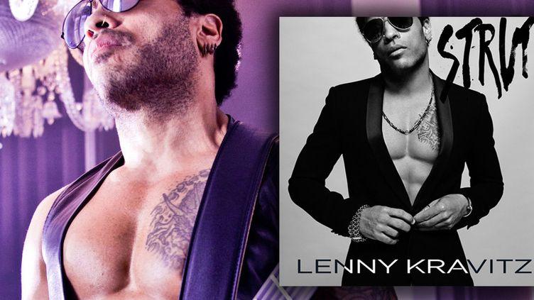 """""""Strut"""", nouvel album de Lenny Kravitz dans les bacs lundi 22 septembre 2014"""