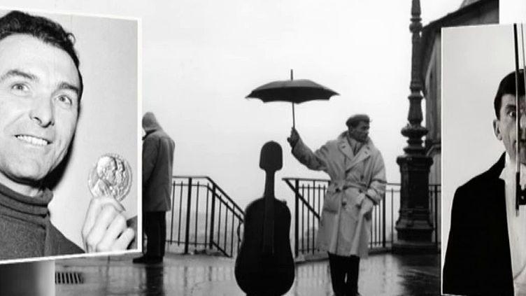 Doisneau, Baquet, un violoncelle, un parapluie, une photo éternelle  (Culturebox - capture d'écran)