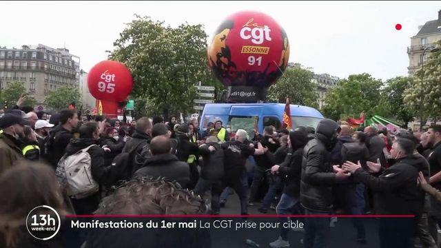 1er-Mai : une camionnette et des militants CGT pris pour cibles
