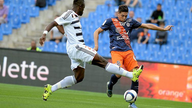 Montpellier s'est réveillé contre Lorient (RICHARD DE HULLESSEN / MAXPPP)