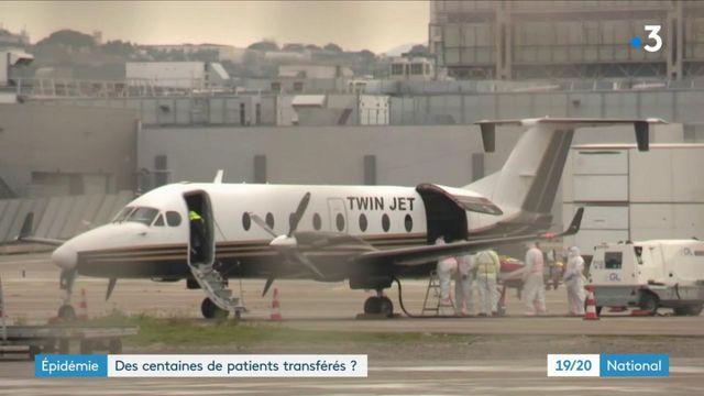 Covid-19 : des centaines de patients d'Ile-de-France transférés