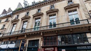 La façade du Palais Vivienne, à Paris, le 6 avril 2021. (MAXPPP)
