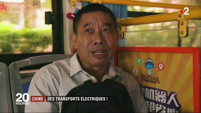 Chine : Shenzhen, la ville aux transports électriques