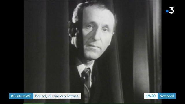 Culture : sur les traces de Bourvil, cinquante ans après sa mort