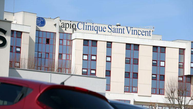 Une des cliniques de Besançon où l'anesthésisteexerçait. (LUDOVIC LAUDE / MAXPPP)