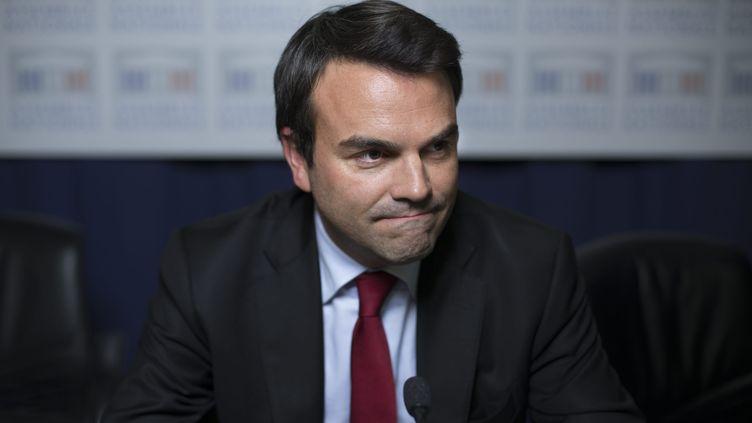 """Thomas Thévenoud, ici à Paris le 30 octobre 2012, justifie ses démêlés avec les impôts par une """"phobie administrative"""". ( MAXPPP)"""