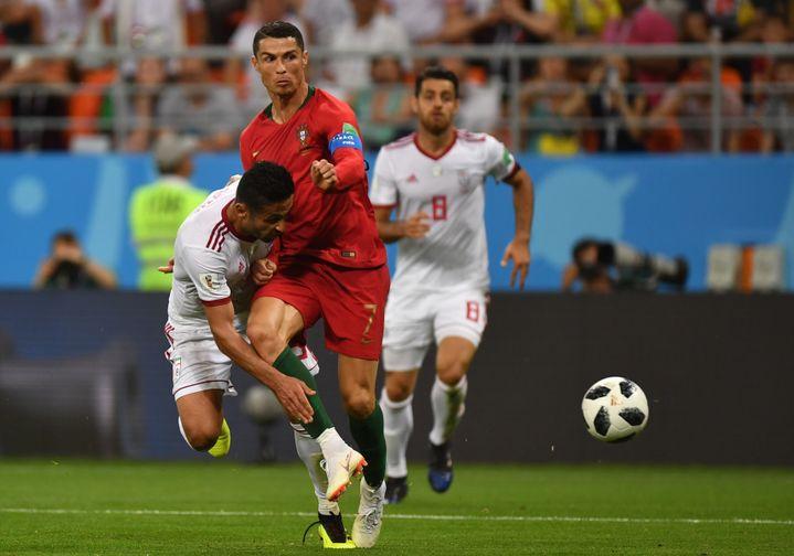 L'Iran a fait partie des équipes très défensives de ce Mondial. (MIKHAIL VOSKRESENSKIY / SPUTNIK)