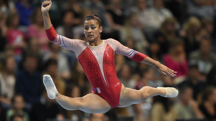 Marine Boyer, membre de l'équipe de France. (FABRICE COFFRINI / AFP)