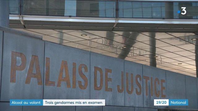 Isère : trois gendarmes poursuivis pour avoir laissé leur collège conduire ivre
