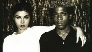 Suzanne Mallouk et Jean-Michel Basquiat  (Duncan Buchanan )