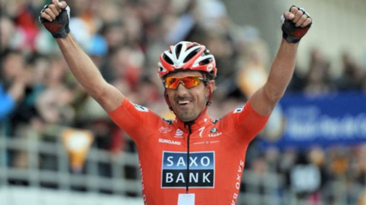 2010 fut une année couronnée de succès pour le Suisse Fabian Cancellara, auteur du doublé Tour des Flandres - Paris-Roubaix.
