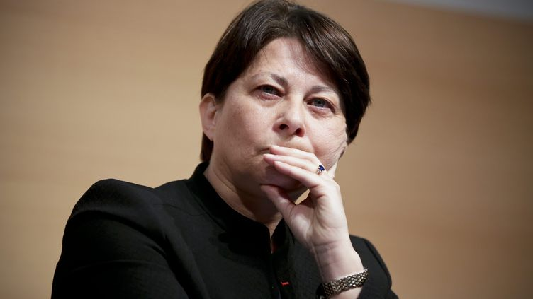Geneviève Chêne, le 19 juin 2014, à Paris. (THOMAS PADILLA / MAXPPP)