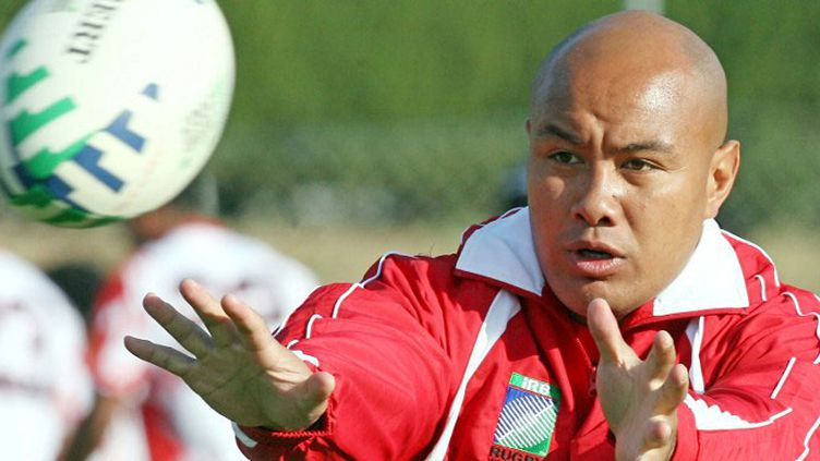 Le capitaine de la sélection du Tonga, Nili Latu
