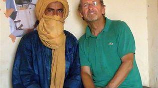 A droite, Pierre Camatte, de l'assocation Gerardmer-Tidarmene (AFP/Cor)