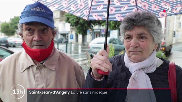 Covid-19 : le port du masque n'est plus obligatoire en extérieur à Saint-Jean-d'Angély