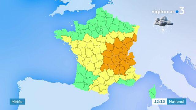 Orages: vigilance sur les routes ce week-end