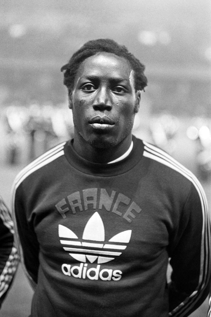 Jean-Pierre Adams, le 13 octobre 1972 à Paris, lors du match France - URSS (1-0). (AFP)