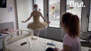 VIDEO. Danseuse étoile, elle se rend au chevet des enfants hospitalisés (BRUT)