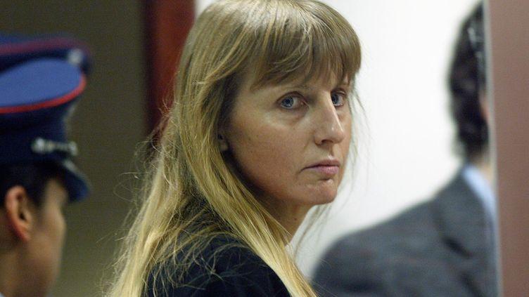 Michelle Martin, le 8 juin 2004 lors d'une audience à Arlon (Belgique). (AFP)