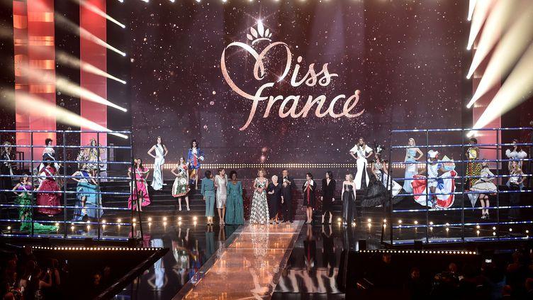 L'édition 2019 de Miss France s'est tenue à Lille (Nord), le 15 décembre 2018. (FRANCOIS LO PRESTI / AFP)