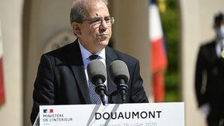 Mohammed Moussaoui, le président du Conseil français du culte musulman (CFCM),lors d'une cérémonie en l'honneur des soldats musulmans de la Première guerre mondiale, au mémorial de Douaumont (Meuse), le 29 juillet 2020. (JEAN-CHRISTOPHE VERHAEGEN / AFP)