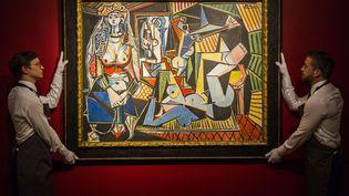 """""""Les femmes d'Alger (version O)"""", du maître espagnol Pablo Picasso, estimée à 140 millions de dollars, a été vendue 179,4 millions de dollars (161 millions d'euros). (GUY BELL / REX / SIPA)"""