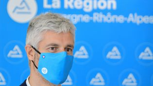 Laurent Wauquiez, président de la région Auvergne-Rhône-Alpes, le 16 novembre 2020. (MAXPPP)