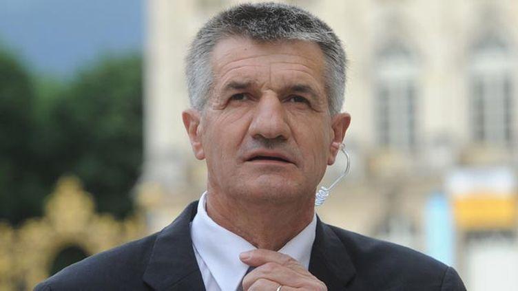 (Jean Lassalle, vice-président du MoDem et candidat à la présidentielle © POL EMILE / SIPA)