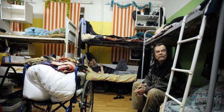 Dans un foyer pour sans domicile fixe à Saint-Pétersbourg, le 13 janvier 2015. (AFP Photo/ Olga Maltseva)
