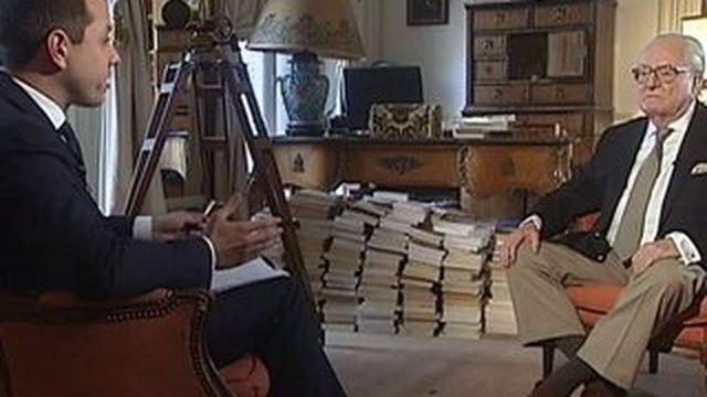 """Jean-Marie Le Pen, le 5 mai 2015 : """"J'ai beaucoup de peine pour les militants du Front national."""""""
