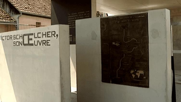 Le nouveau musée consacré à Victor Schoelcher à Fessenheim  (Capture d'image France3/Culturebox)