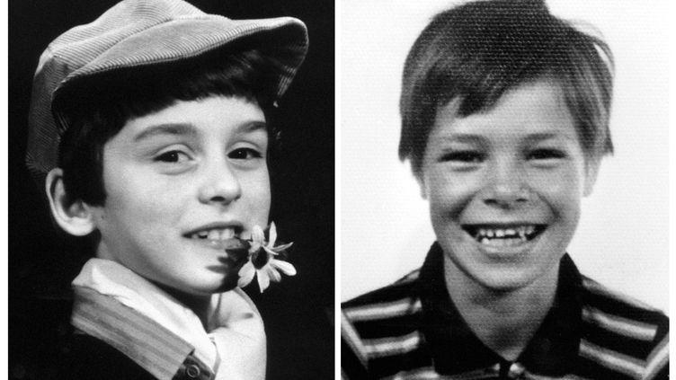 Alexandre Beckrich (à gauche) et Cyril Beining, tués à Montigny-lès-Metz (Moselle), le 28 septembre 1986. (AFP)