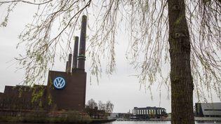 L'usine Volswagen de Wolfsburg, en Allemagne. (ODD ANDERSEN / AFP)