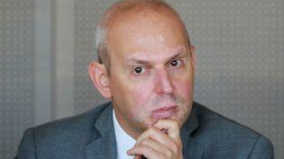 Le directeur général de la Santé, Jérôme Salomon, lors d'une conférence de presse à Paris, le 17 juillet 2019. (JACQUES DEMARTHON / AFP)