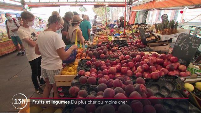 Consommation : le prix des fruits et légumes en baisse