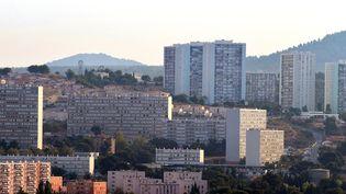 Vue des quartiers nord de Marseille (Bouches-du-Rhône), le 18 septembre 2012 (GERARD JULIEN / AFP)