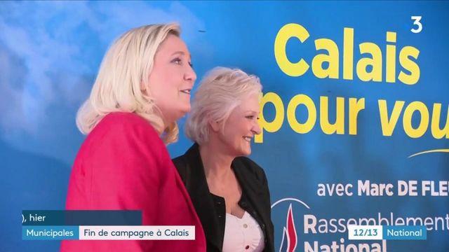 Municipales à Calais : le Rassemblement national espère ravir la mairie