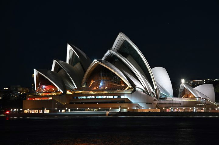 L'opéra de Sydney, (27 mars 2021). (STEVEN SAPHORE / AFP)