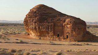 Le royaume wahhabite a confié aux Français le développement de leur tourisme, notamment la cité nabatéenne d'Al Ula, joyaux du désert à l'image de Pétra, en Jordanie. (FRANCE 3)