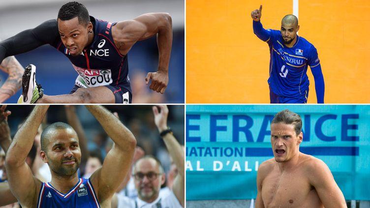 Dimitri Bascou (110m haies), Earvin Ngapeth (volley), Tony Parker (basket) et Yannick Agnel (natation) seront attendus à Rio