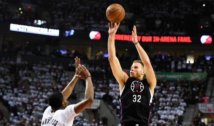 Blake Griffin, auteur de 27 points pour les Clippers face à Portland