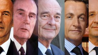 Les cinq derniers présidents de la France, Christine Clerc, journaliste politique a déclaré les avoir tous vu faire naufrage. Un titre-choc qui interpelle à 25 jours de la présidentielle. (FRANCE 2)