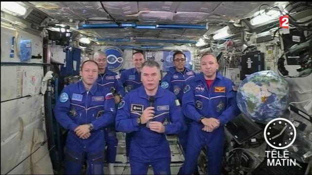Espace : le pape François s'est entretenu avec les six astronautes de l'ISS