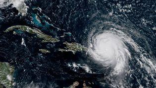 L'ouragan Irma, photographié le 6 septembre 2017. (NOAA / RAMMB / AFP)