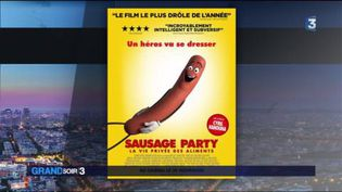 L'affiche du film Sausage Party (FRANCE 3)